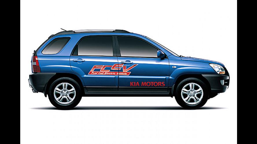 Kia Sportage FCEV: Studie mit Brennstoffzellenantrieb