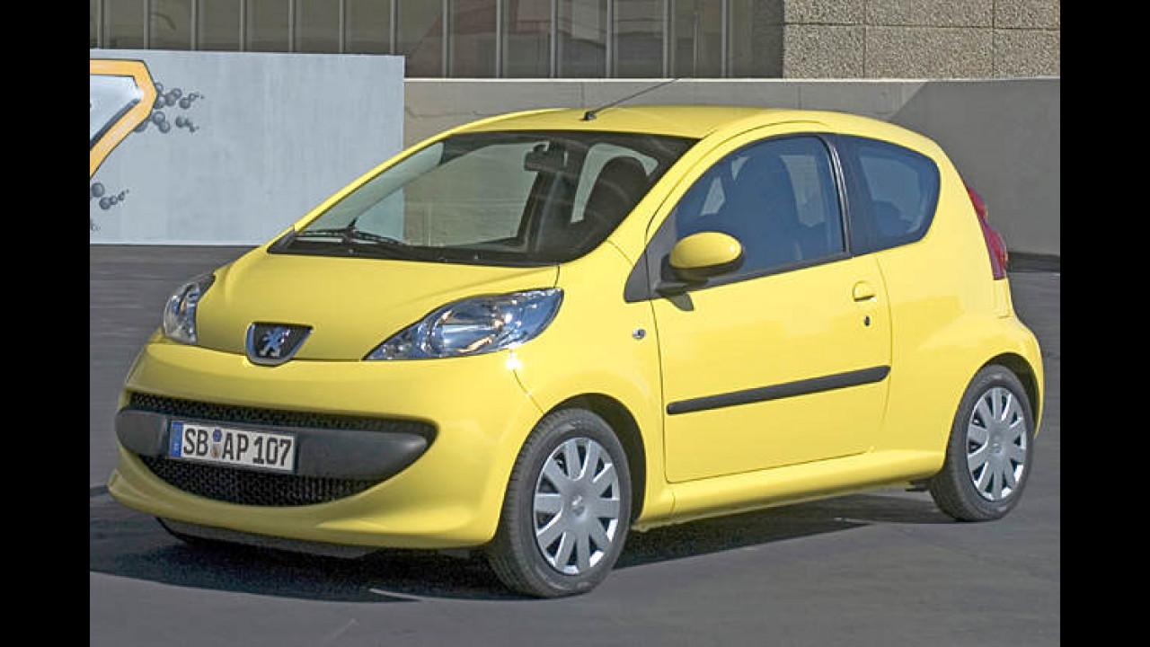 Peugeot 107 70 Petit Filou 3-türig