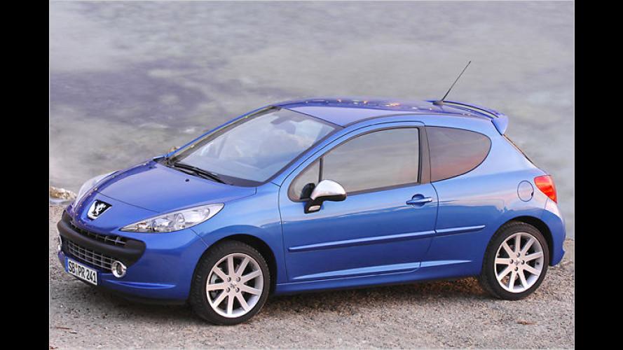 Peugeot gibt jetzt die Preise für den 207 RC bekannt