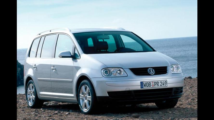 Stark und automatisch: VW Touran in neuer Version