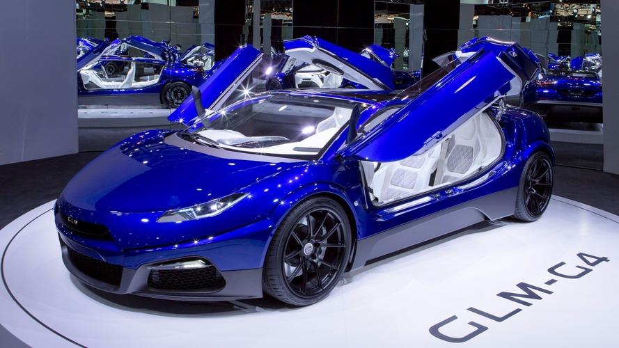 GLM G4 elektrikli süper otomobil Paris'te görücüye çıktı