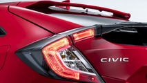 2017 Honda Civic Hatchback teaser