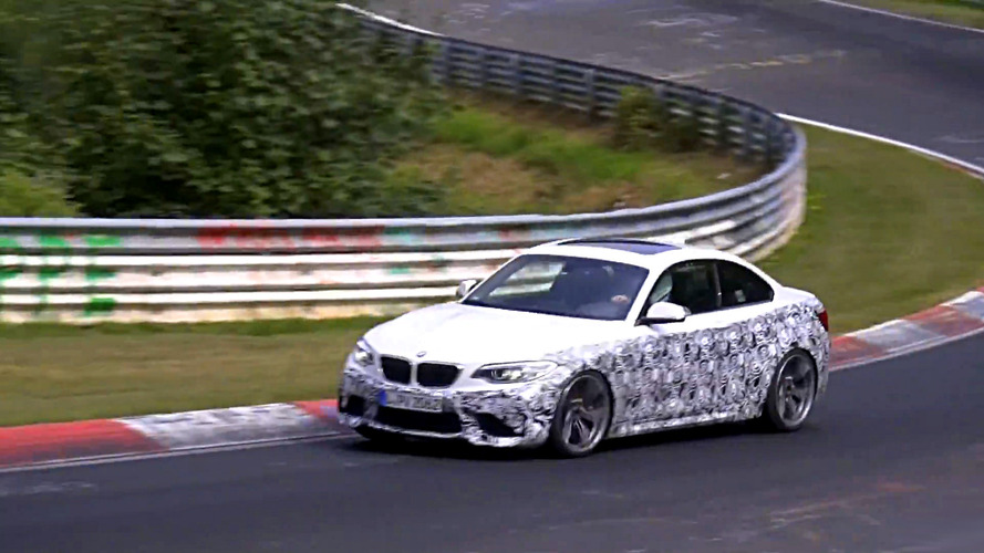 We could be looking at a BMW M2 CSL in the making