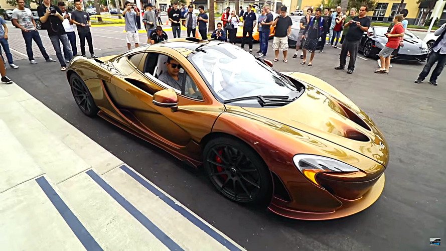 Colour-shifting chameleon McLaren P1 is bad at hiding