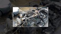 Ferrari F40 alevlerle enkaza döndü