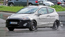 Ford Fiesta 3- and 5-door spy photos