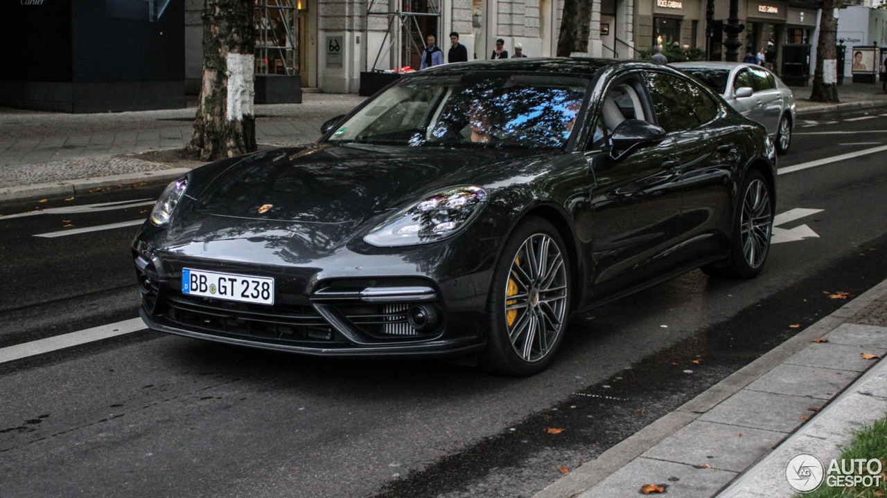 Porsche Panamera Turbo spotted