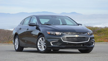 2016 Chevy Malibu test drive