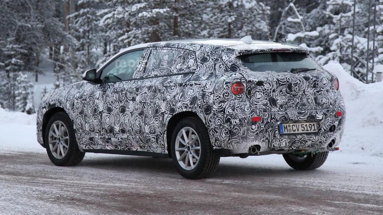 BMW X2 2017 photos espion