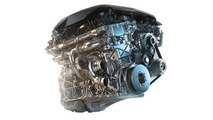2016 BMW 730i engine