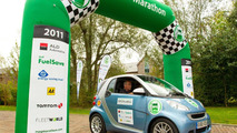 Smart cdi wins MPG Marathon 12.10.2011