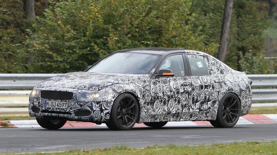 2014 BMW M3 spied at new M test center