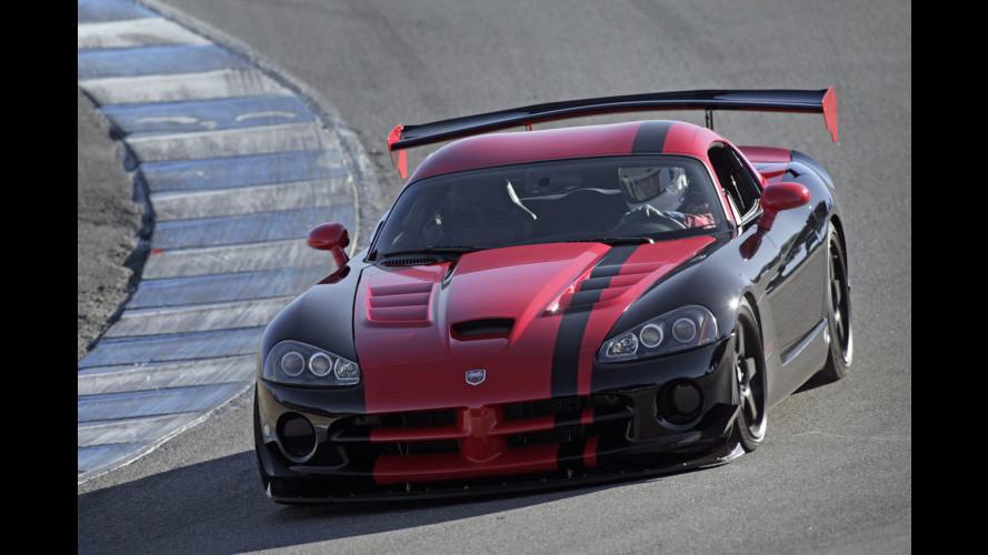Dodge Viper SRT10 ACR: è record a Laguna Seca