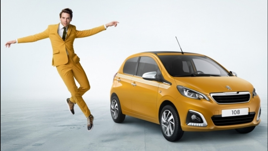 Peugeot 108 Collection, serie speciale a colori