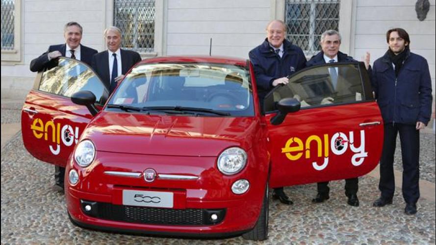Car sharing, a Milano le Fiat 500 piacciono e arrivano a Roma