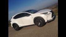 Lexus NX Hybrid, test di consumo reale Roma-Forlì