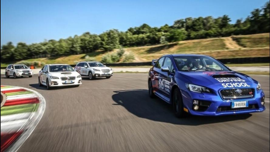 Subaru Driving School, avere il controllo dell'auto a 360°