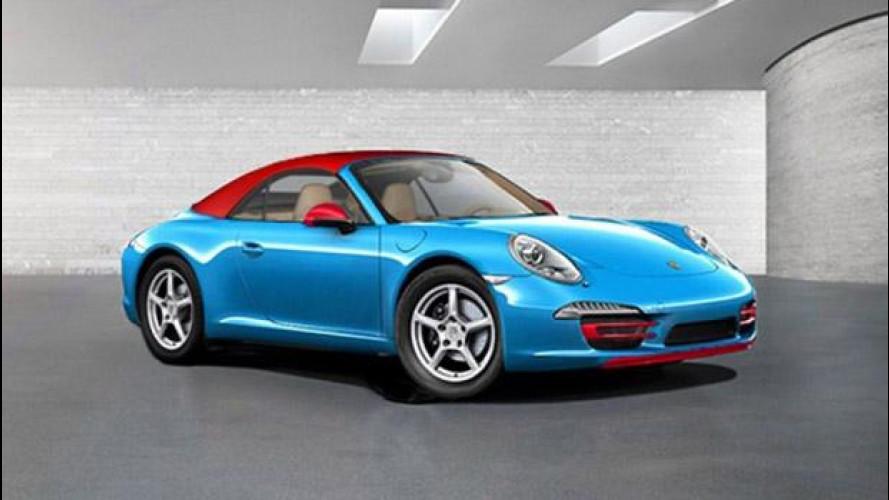 Porsche 911 Blue Edition, l'ecologica per Francoforte?