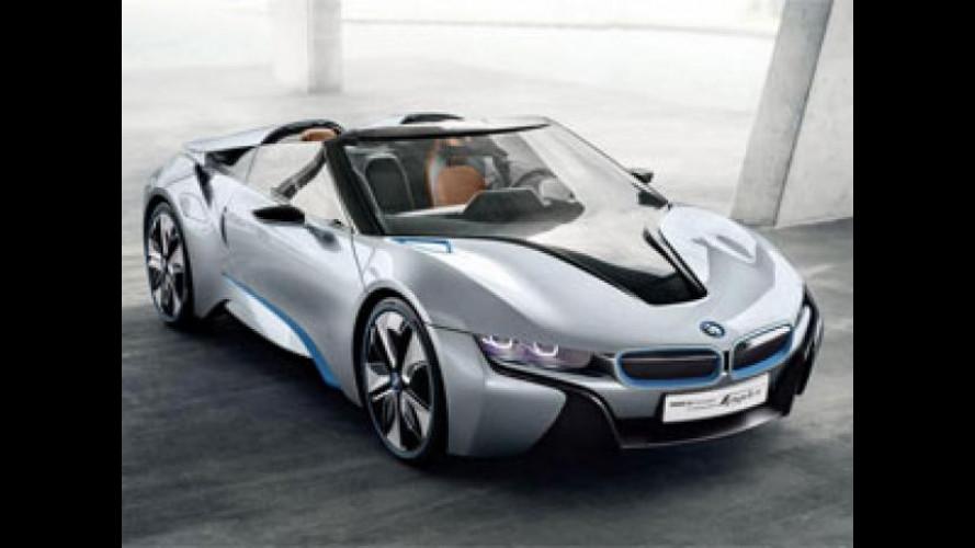BMW i8 Concept Spyder protagonista al Mennea Golden Gala di Roma