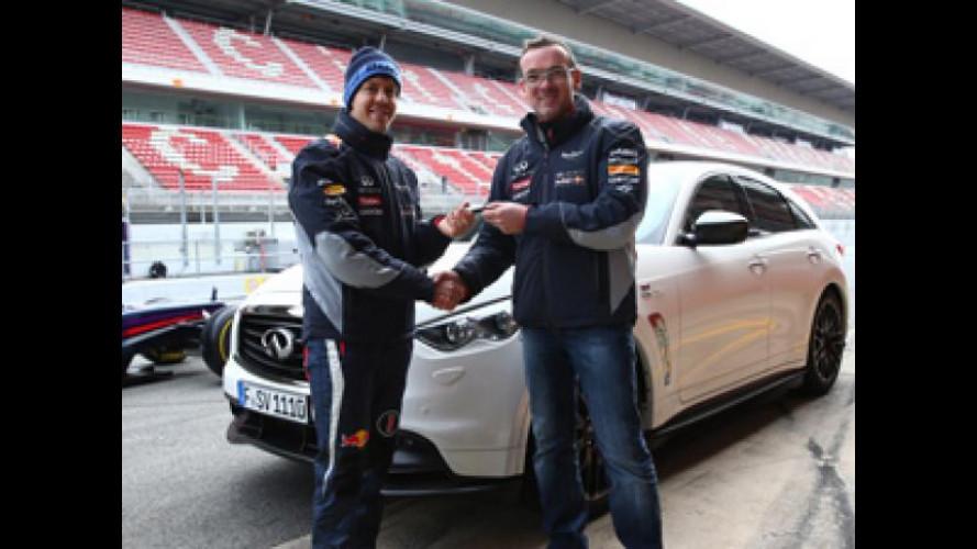 Ininiti FX Vettel Edition: il regalo di compleanno per Sebastian Vettel