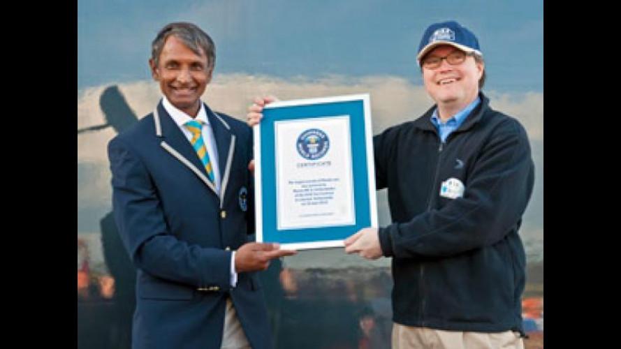Mazda stabilisce un nuovo Guinness World Record: raduno di 683 MX-5