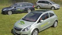 Current Opel EcoFLEX range