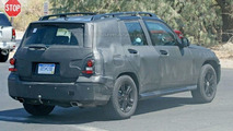 Mercedes GLK Spied in the U.S.