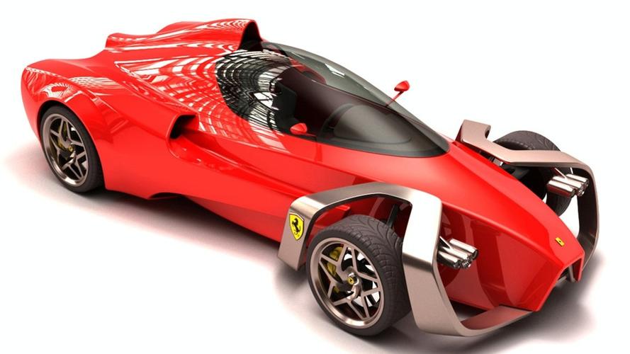 Designer Project: F1 Inspired Ferrari Zobin Concept