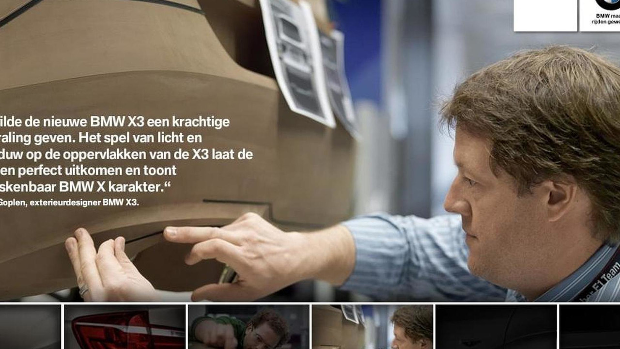 2011 BMW X3 teaser screenshots from Dutch BMW site, 1024, 21.05.2010