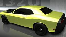 Mopar Dodge Challenger 1320. Named for the 1,320 feet in a quarter-mile drag strip.