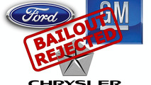 Detroit three bailout rejected