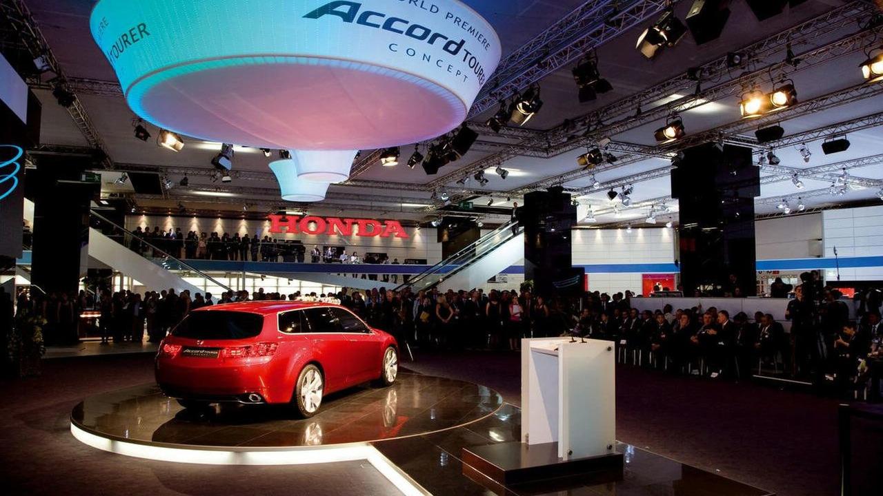 Honda stand at Frankfurt Motor Show 2007