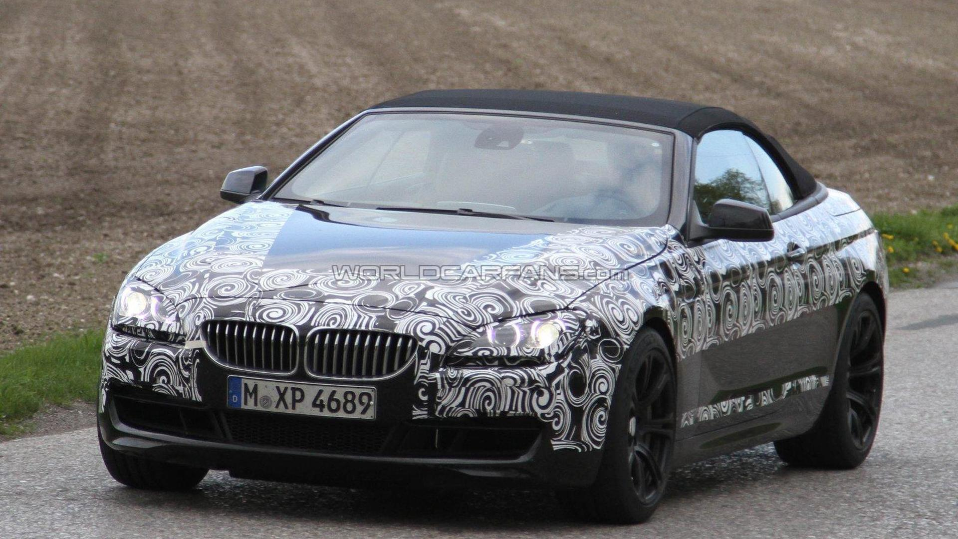 BMW M Coupe And Cabrio Spied - 2011 bmw m6