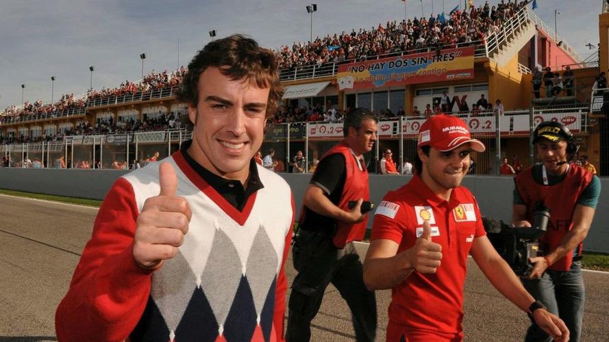 Alonso to make Ferrari debut at Valencia