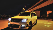 Lexus LX570 with Wald Sports Line Black Bison Edition