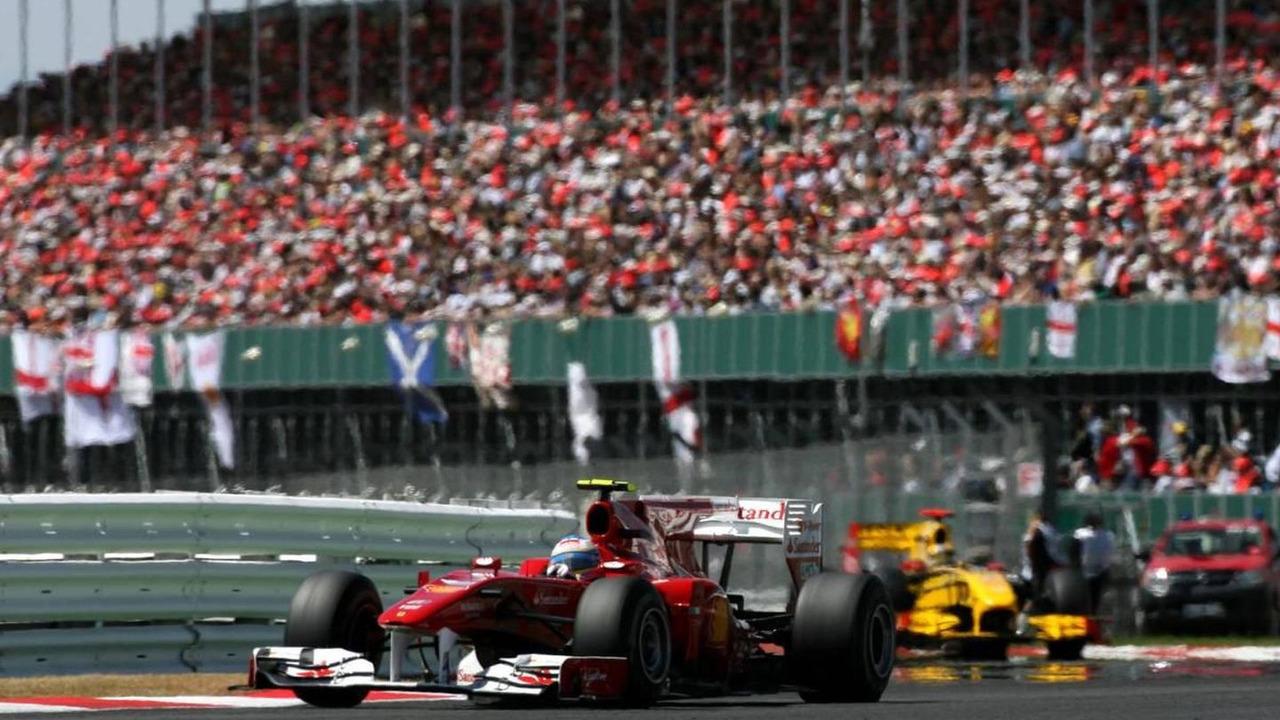 Fernando Alonso (ESP), Scuderia Ferrari, British Grand Prix, 11.07.2010 Silverstone, England