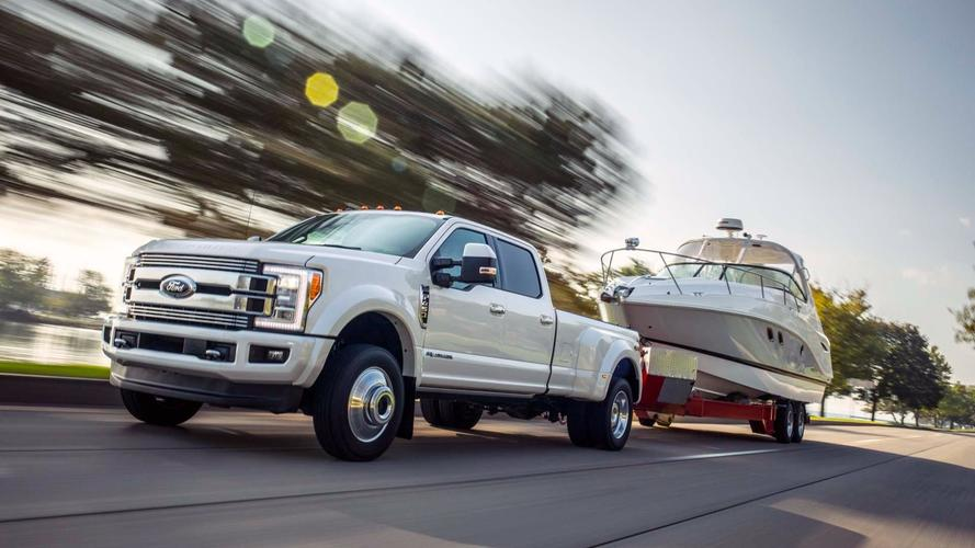 Ford Super Duty Talks Tough, Touts Best-in-Class Towing