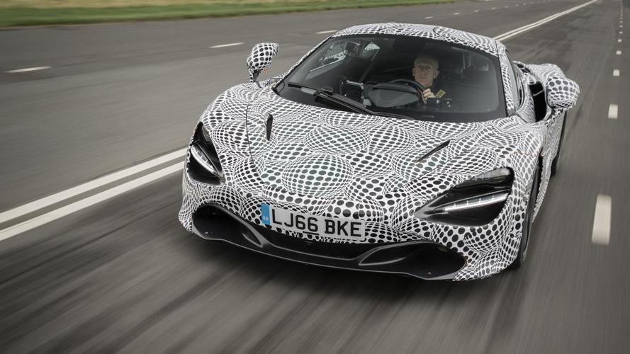 McLaren BP23 prototipo de pruebas