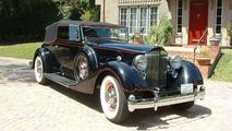 1934 Packard V12 Convertible Victoria