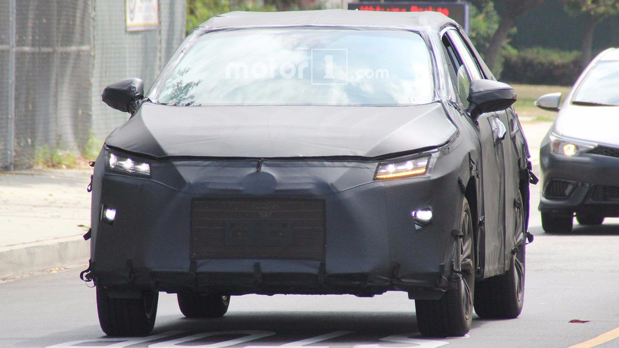 Lexus RX Three-Row Spy Shots