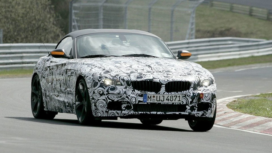 2010 BMW Z4 Spy Video
