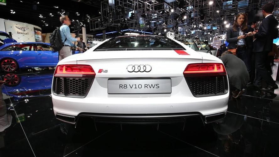 Audi R8 V10 RWS live images