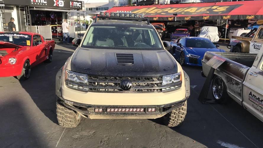 Volkswagen rallycross stars shine at SEMA