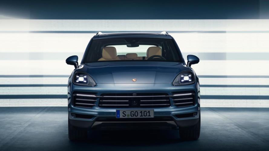 Porsche Cayenne 2018 en fuite