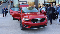2018 Volvo XC40 canlı fotoğraflar