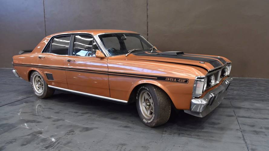 1971 Ford Falcon GTHO Lost For 30 Years Heading To Auction