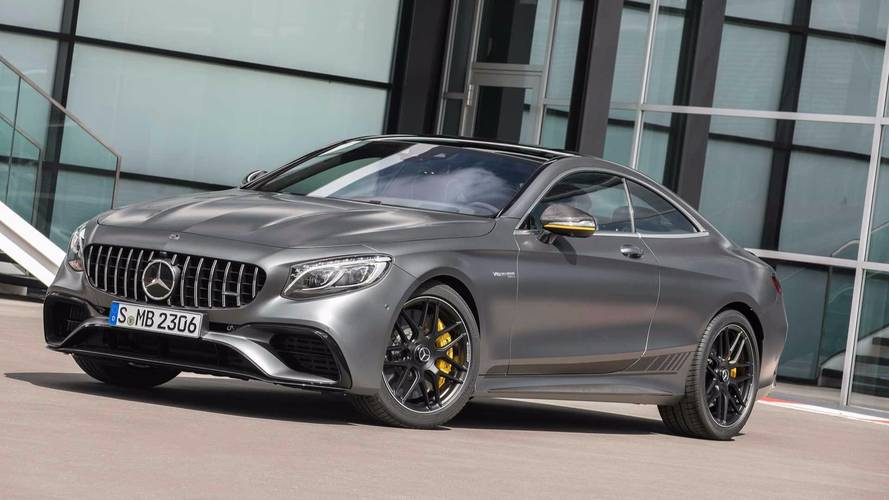 Mercedes-AMG S63 Coupe Comes Fully Loaded For Yellow Night Edition