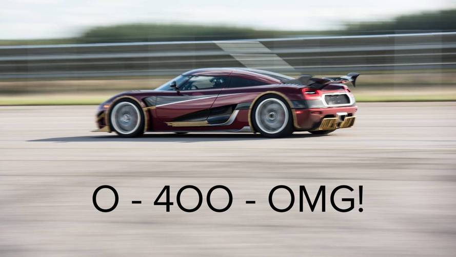 Koenigsegg Hints Bugatti Chiron's 0-249-0 MPH Record Is In Danger