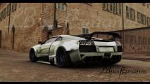 Liberty Walk LB Performance Lamborghini Murcielago Brushed Aluminum