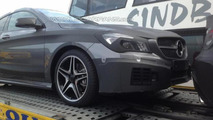 Mercedes-Benz CLA 45 AMG spy photo